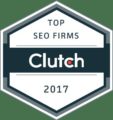 top SEO firms clutch 2017