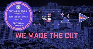 US search awards 2018 we made the cut