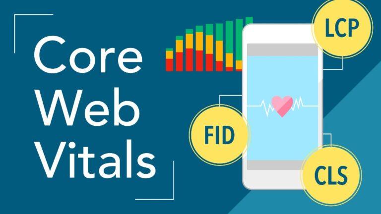 core web vitals and responsive website design