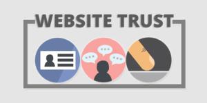 establishing website trust