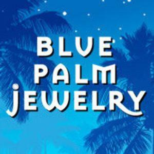 blue palm jewelry