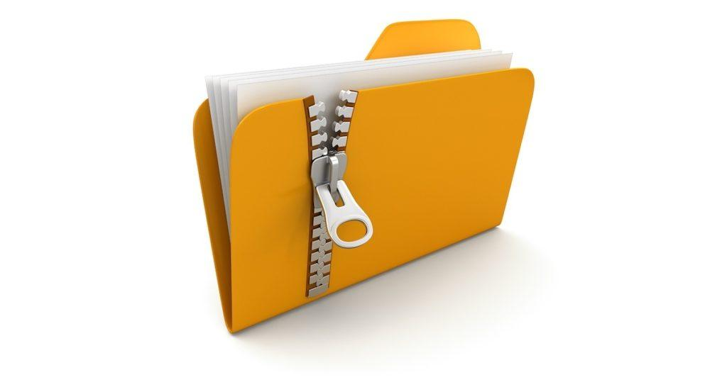How to zip a file