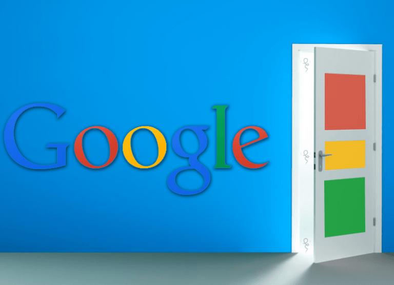 Google Doorway page