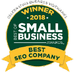 Best SEO Company Small Business award 2018