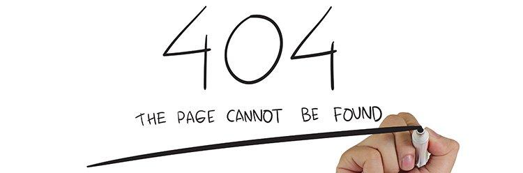 Page not found error