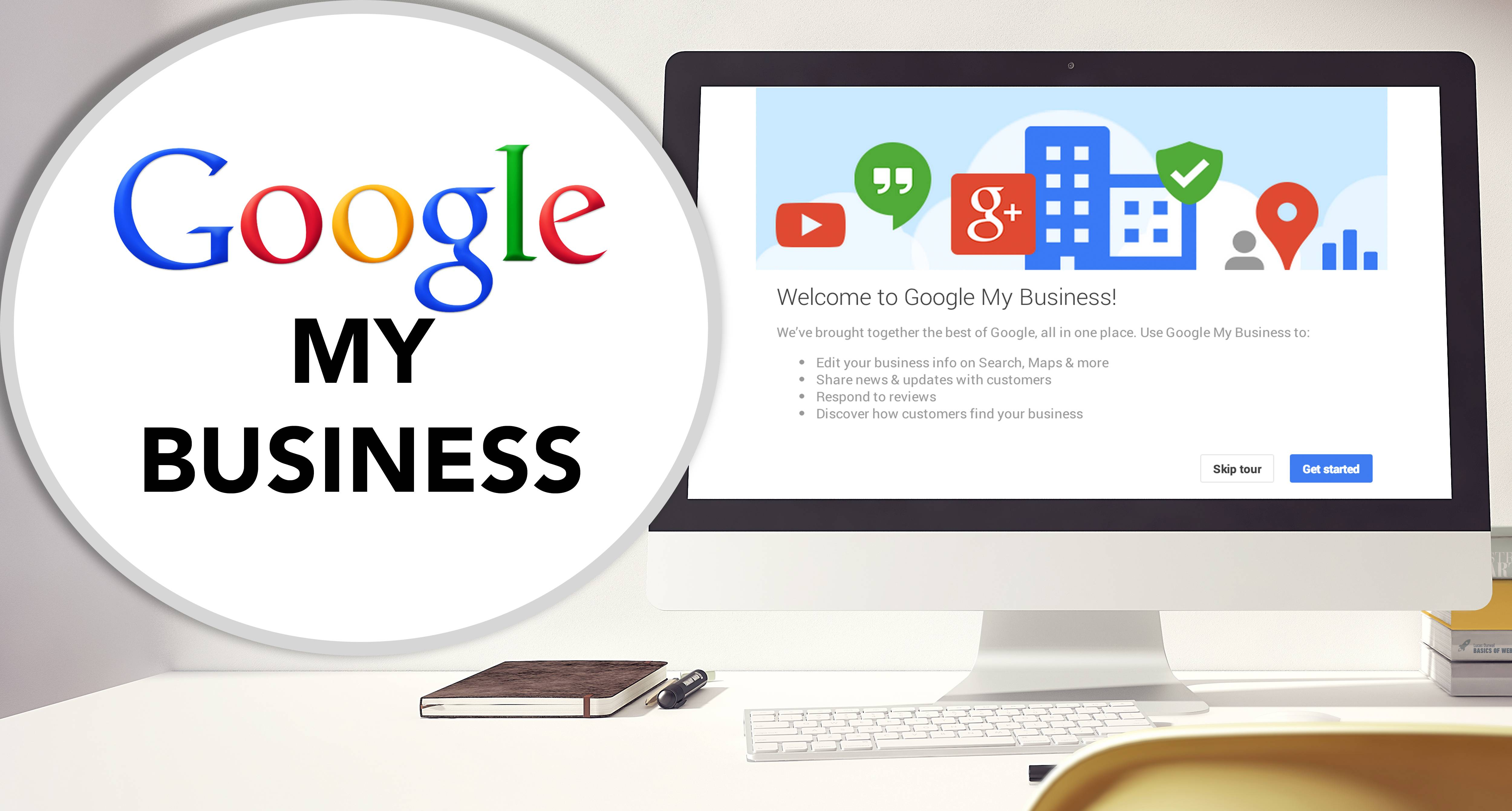 Get listed with Google My Business