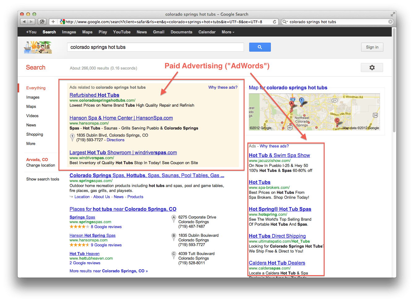 Paid Advertising on Google