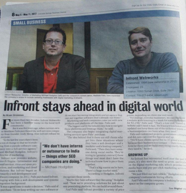 Infront stays ahead in digital world