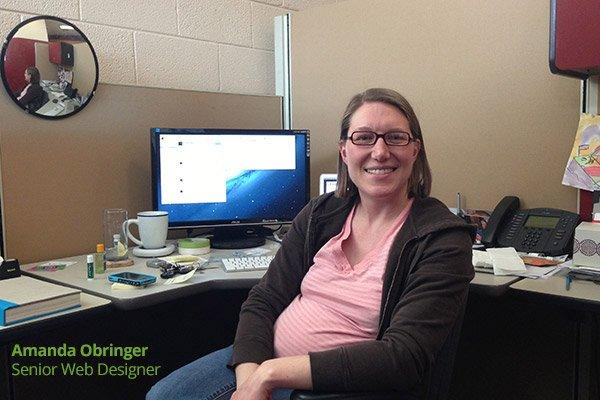 Interview Amanda orbringer web designer