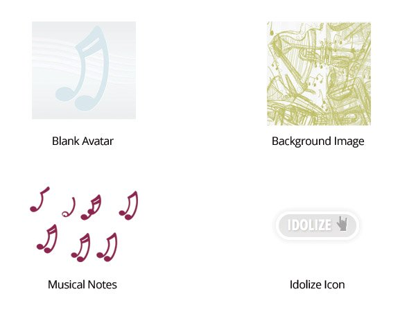 Melody Fusion Musical Icons