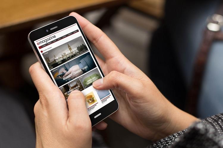 Finger size for mobile design