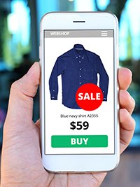50 percent of ecommerce is mobile