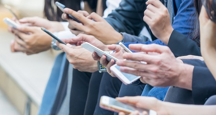 70 percent of online access on mobile