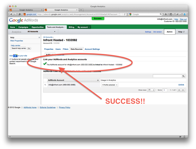 Image of Linking Success