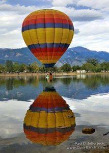 Second wind hot air balloon