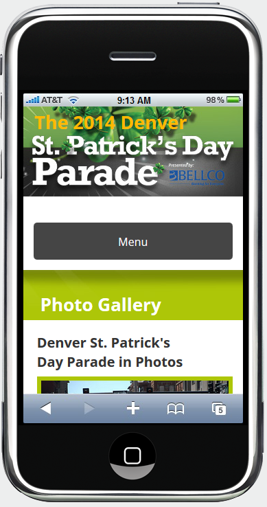 Infront Denver St. Patrick's Day Mobile