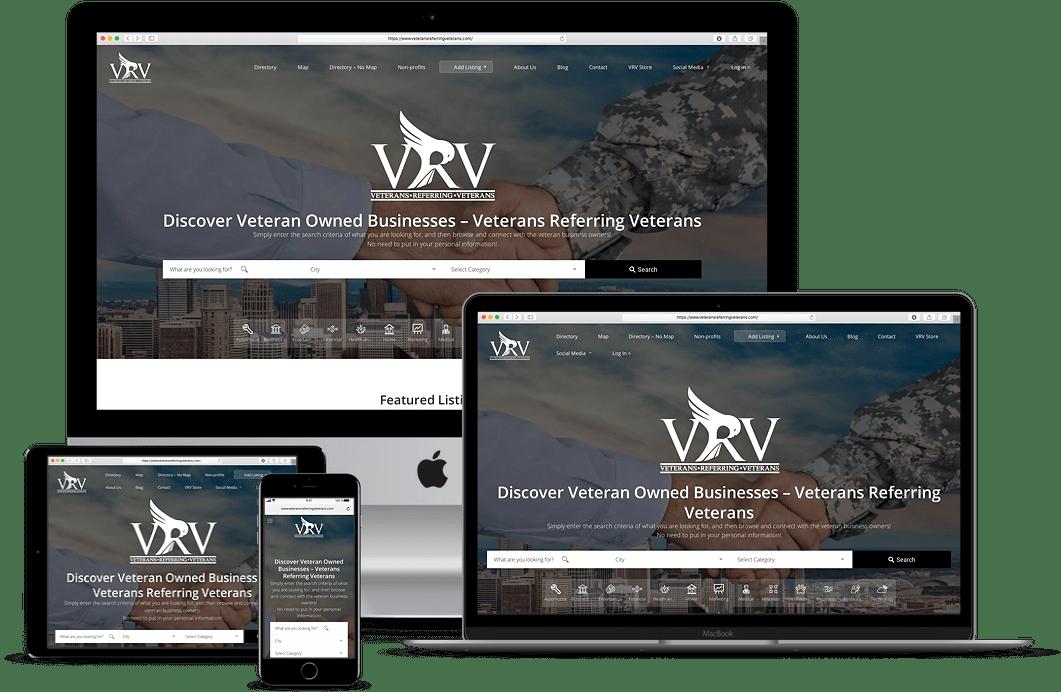 veterans referring veterans responsive design
