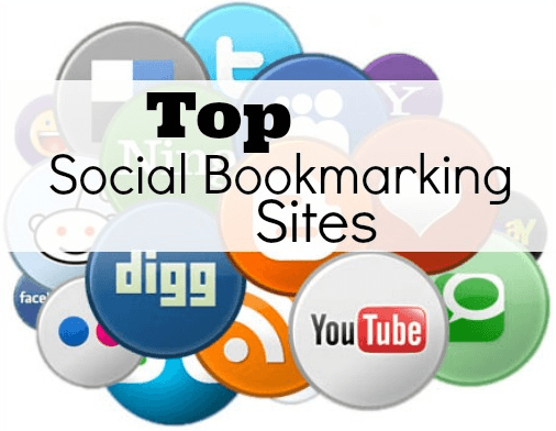 Our list of social bookmarking Sites