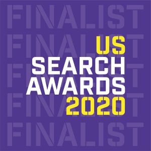 Infront Webworks US Search Awards Finalists 2020