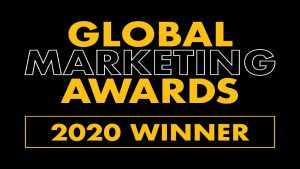 Global Marketing Awards 2020 Winner Badge
