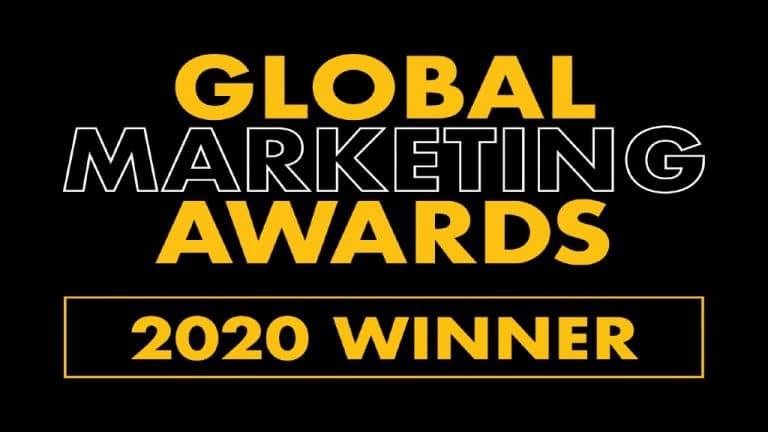 Global Marketing Awards 2020 Winner Badge
