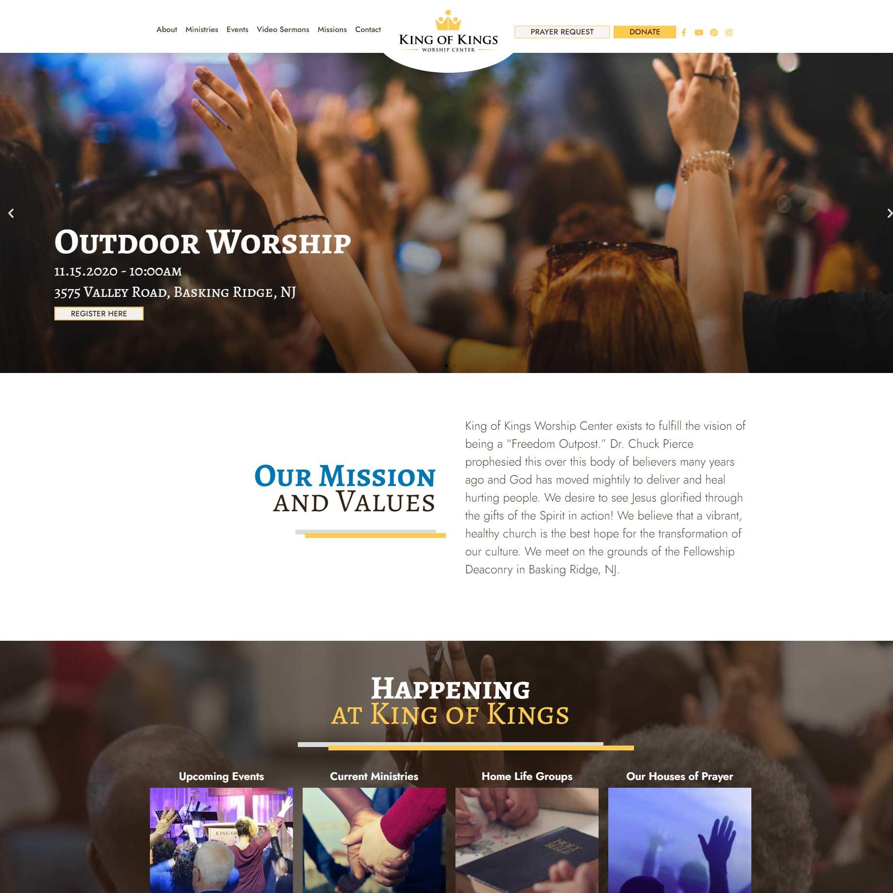 king of kings website