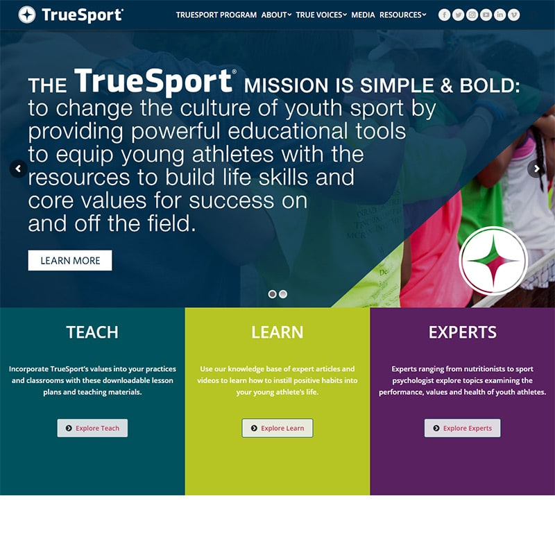 truesport website challenges