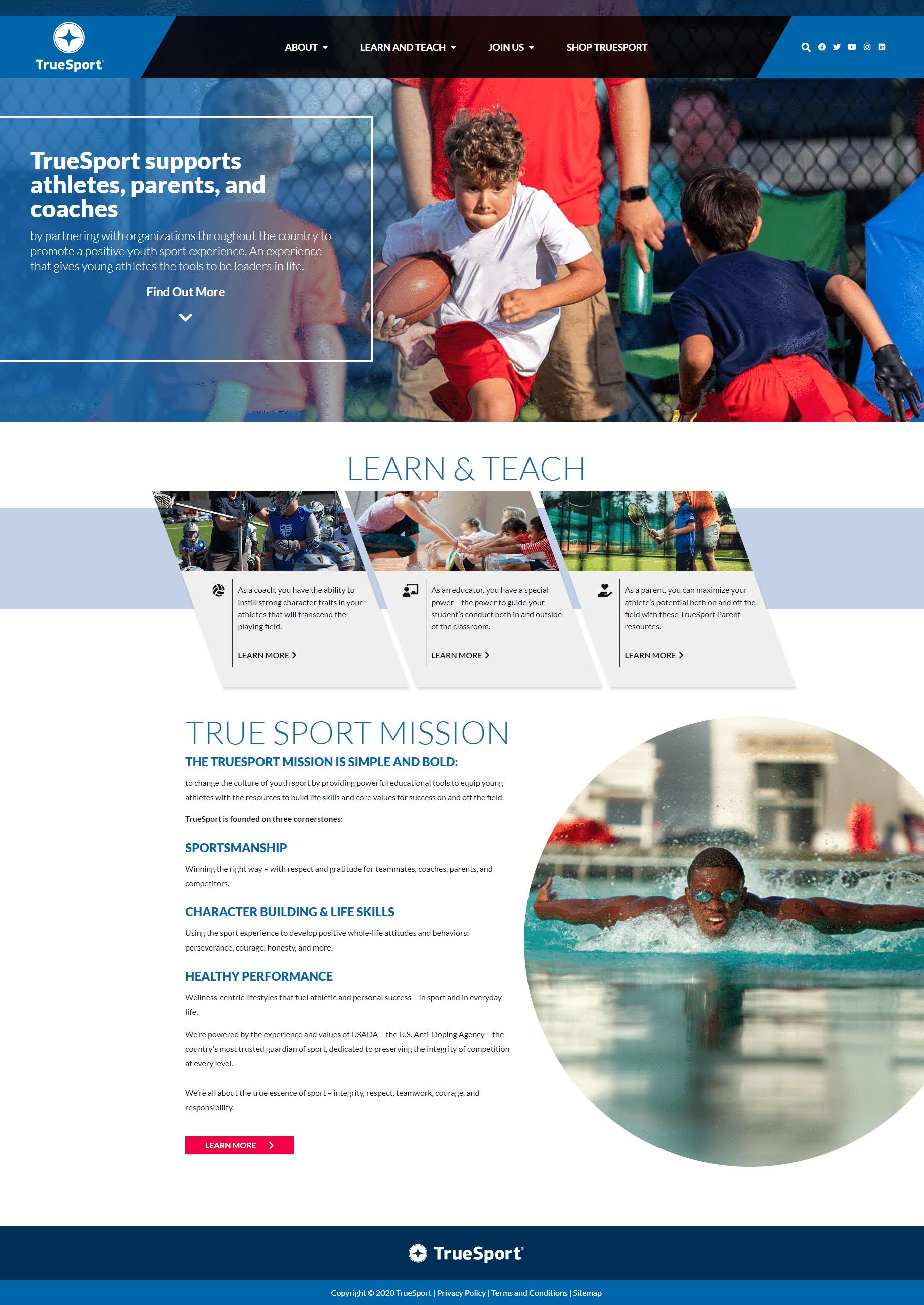 truesport website