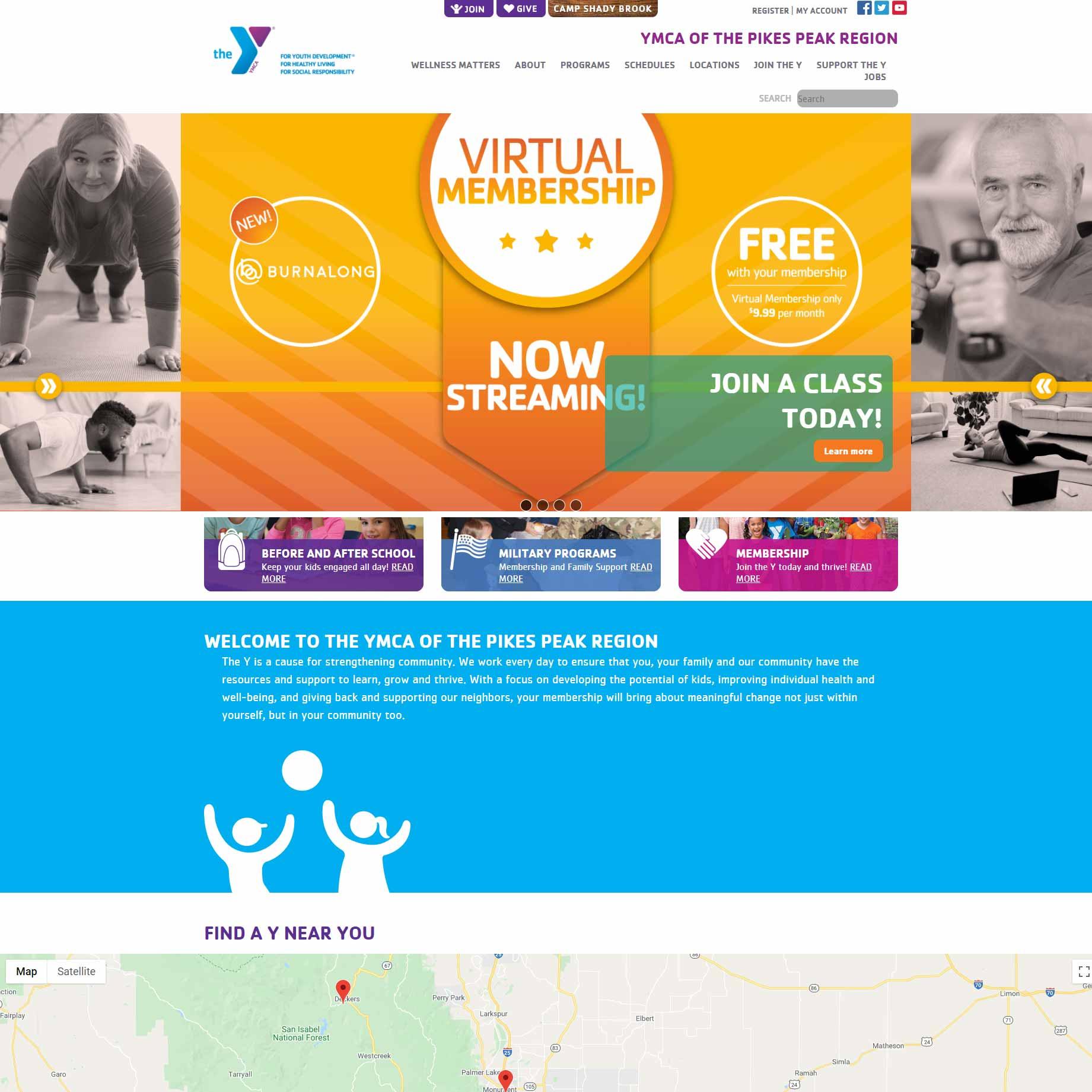 YMCA website
