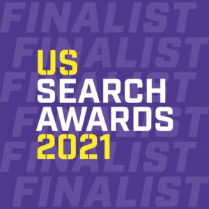 Finalist for US Search Awards 2021