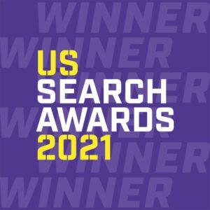 US Search Awards 2021 Winner